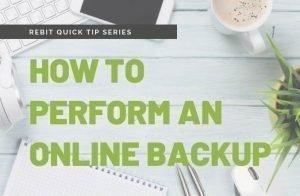 Comment effectuer une sauvegarde en ligne? | Rebit